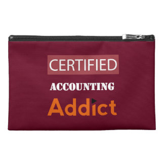 Certified Accounting Addict Travel Accessory Bag