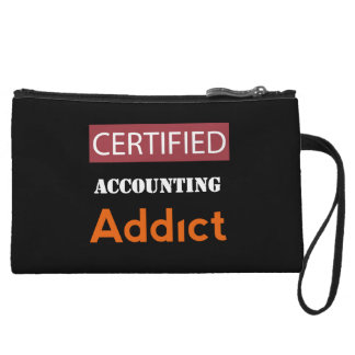 Certified Accounting Addict Wristlet