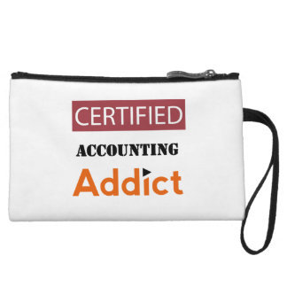 Certified Accounting Addict Wristlet Wallet