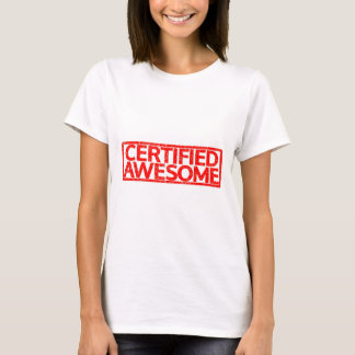 Certified Awesome Stamp T-Shirt