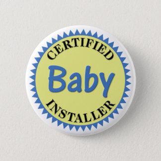 Certified Baby Installer Button
