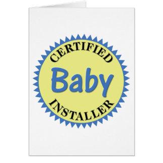 Certified Baby Installer Card