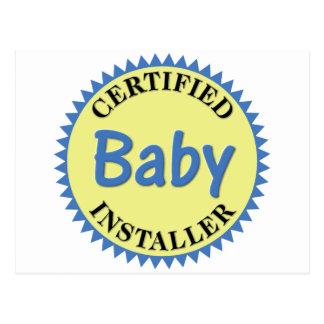 Certified Baby Installer Postcard