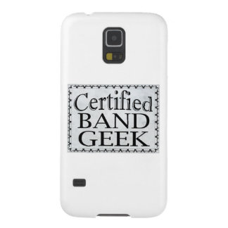 Certified Band Geek Galaxy S5 Covers