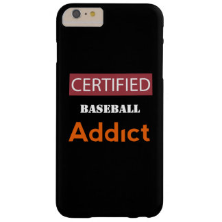 Certified Baseball Addict Barely There iPhone 6 Plus Case