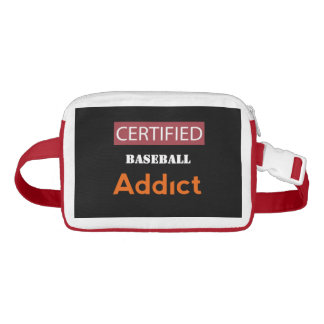 Certified Baseball Addict Fanny Pack