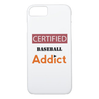 Certified Baseball Addict iPhone 8/7 Case