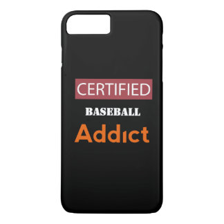 Certified Baseball Addict iPhone 8 Plus/7 Plus Case