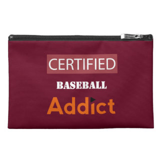 Certified Baseball Addict Travel Accessory Bag