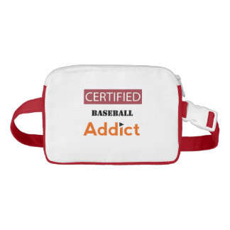 Certified Baseball Addict Waist Bag