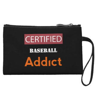 Certified Baseball Addict Wristlet Wallet