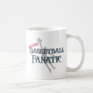 Certified Basketball Fanatic Coffee Mug