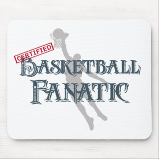 Certified Basketball Fanatic Mouse Pad