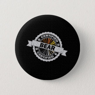 Certified Bear Stamp Button