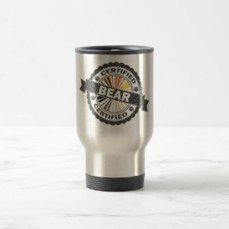 Certified Bear Stamp Travel Mug