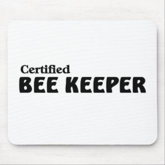 Certified bee Keeper Mousepads