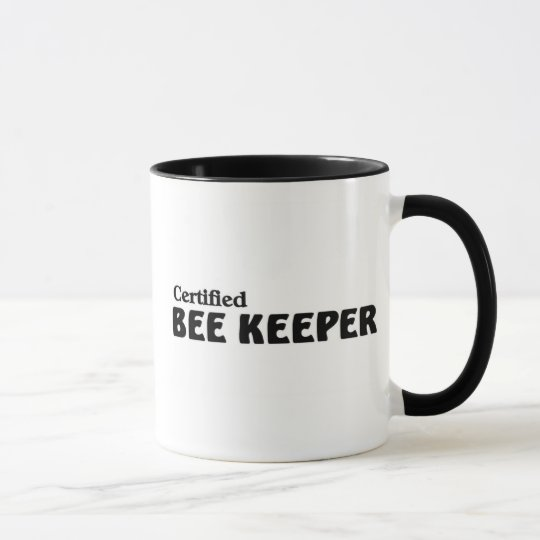Certified bee Keeper Mug