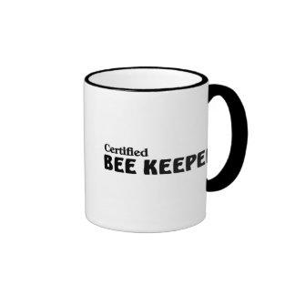 Certified bee Keeper Mugs