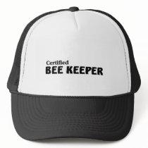 Certified bee Keeper Trucker Hat