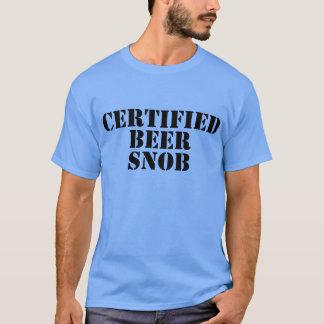 Certified Beer Snob Shirts