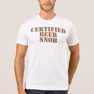 Certified Beer Snob T-shirt