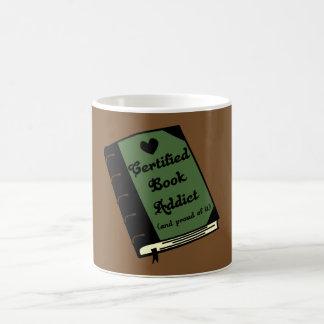 Certified Book Addict Coffee Mug