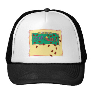 Certified Caffiend - Coffee Addict's Hat
