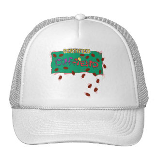 Certified Caffiend - coffee java lover's hat
