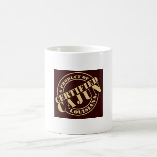 Certified Cajun 11 oz Classic White Mug