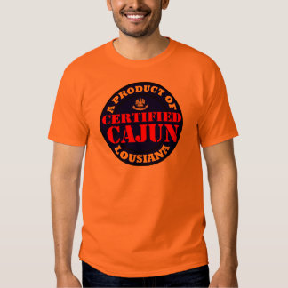 CERTIFIED CAJUN T-SHIRT
