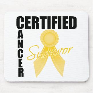 Certified Cancer Survivor - Childhood Cancer Mousepads