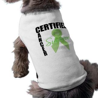 Certified Cancer Survivor - Lymphoma Doggie Shirt