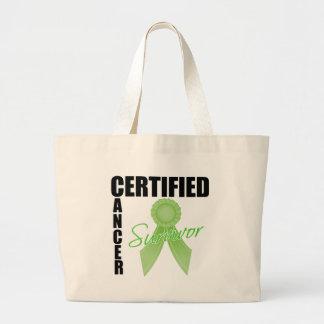 Certified Cancer Survivor - Non-Hodgkin's Lymphoma Canvas Bags