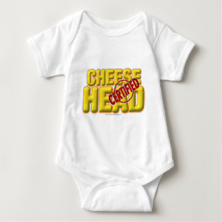 Certified CheeseHead Baby Bodysuit