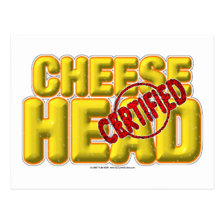 Certified CheeseHead Post Card