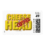 Certified CheeseHead Postage Stamp