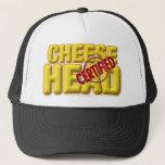 Certified CheeseHead Trucker Hat