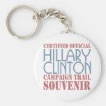 Certified  Clinton Keychain