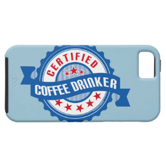 Certified Coffee Drinker iPhone 5 Cover