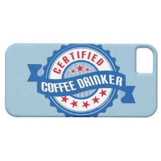 Certified Coffee Drinker iPhone 5 Covers