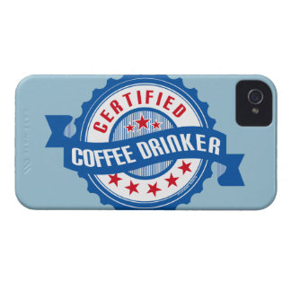 Certified Coffee Drinker iPhone 4 Case-Mate Cases