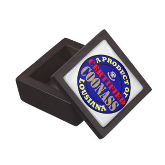 CERTIFIED COONASS PREMIUM JEWELRY BOX