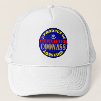 CERTIFIED COONASS TRUCKER HAT