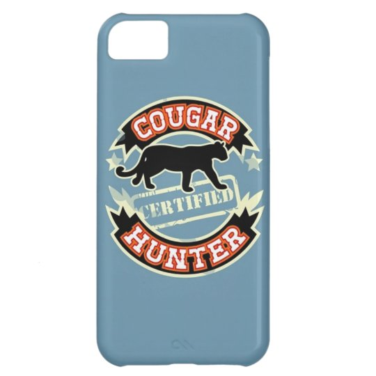 Certified Cougar Hunter iPhone 5 Case