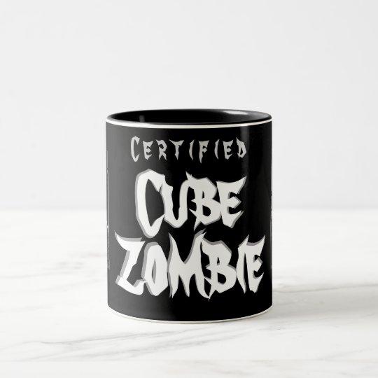 Certified Cube Zombie - Coffee, Tea or Worse Mug