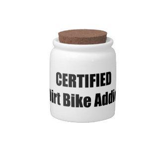 Dirt Bikes And More.jar Dirt Bike Addict Candy Jar