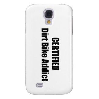 Certified Dirt Bike Addict Galaxy S4 Case