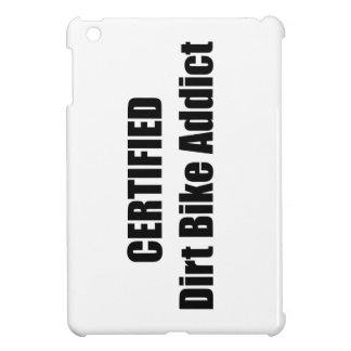 Certified Dirt Bike Addict Case For The iPad Mini