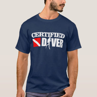 Certified Diver 2 Apparel T-Shirt