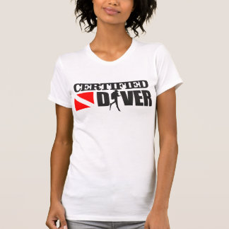 Certified Diver 2 Apparel T Shirts